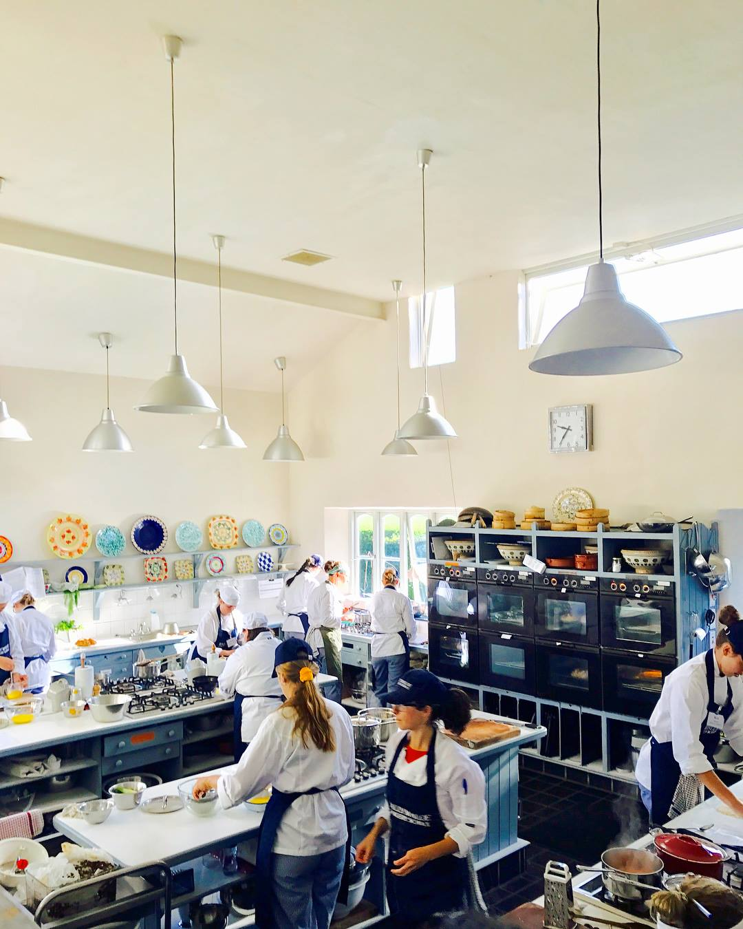 12 week students - bread & chicken - Ballymaloe Cookery School