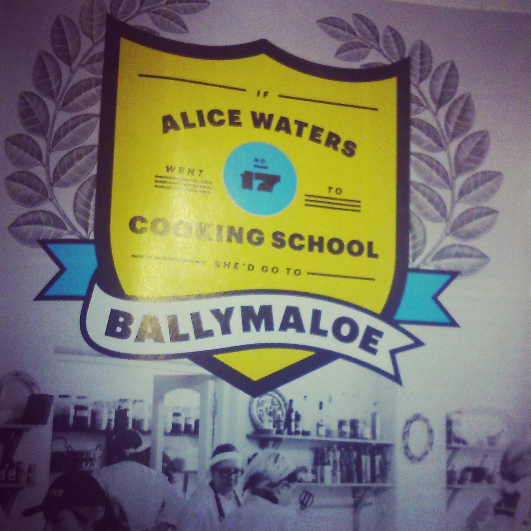 Alice Waters on Ballymaloe Cookery School