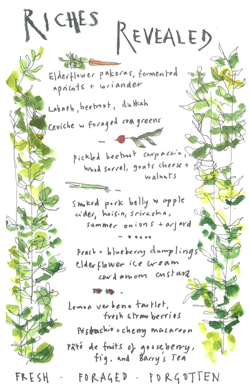 Slow Food pop up dinner