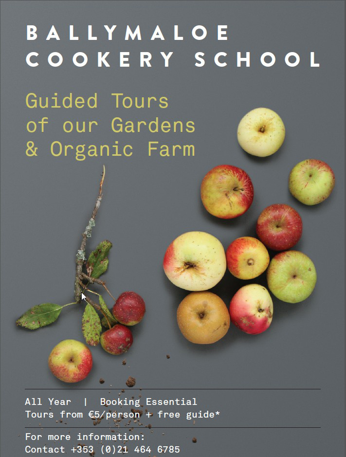 Garden Tour at Ballymaloe Cookery School