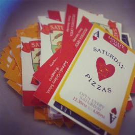 Saturday Pizzas Customer Loyalty Card - Ballymaloe Cookery School