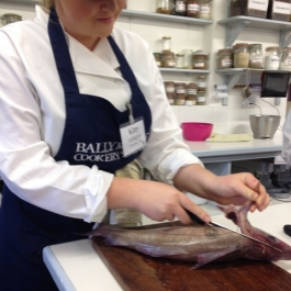 Seafood Course - Ballymaloe Cookery School