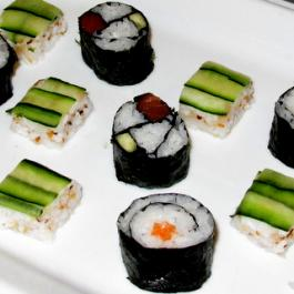 Sushi at Ballymaloe Cookery School