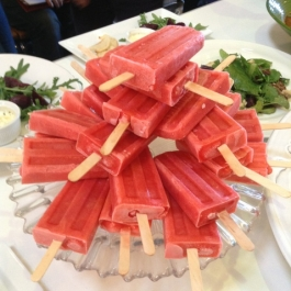 Ice Pops on Entertaining with Darina and Rachel Allen