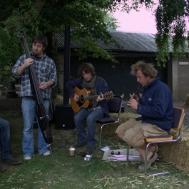 Live music at Ballymaloe Cookery School celebration