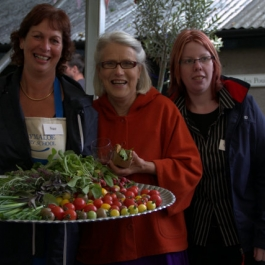 Sue, Darina and Sharon at the Ballymaloe Cookery School
