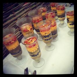 Long Table Dinner - Champagne & Summer Fruit Jelly
