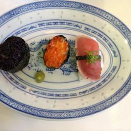 Sushi plate at Ballymaloe Cookery School