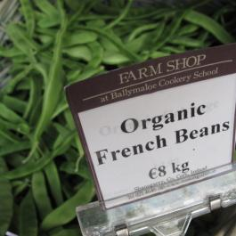 Organic French Beans, The Farm Shop - Ballymaloe Cookery School