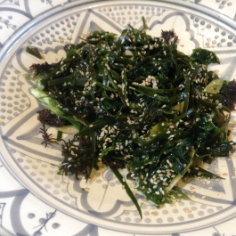 Seaweed & Sesame Salad with Ginger - Small Plate Ideas - Ballymaloe Cookery School