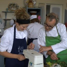Rory with Students - Ballymaloe Cookery School