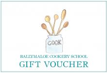 Ballymaloe Cookery School Gift Voucher