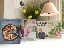 4 new books by Ballymaloe Cookery School teachers on a counter